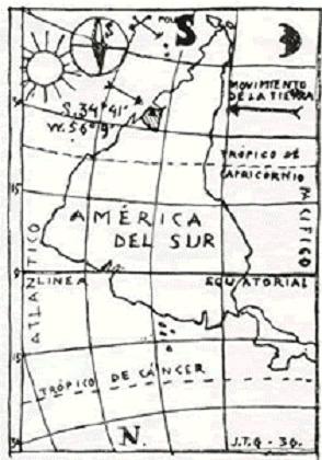 Mapa Torres García